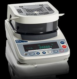 A&D Weighing                         Moisture Analyzer Series