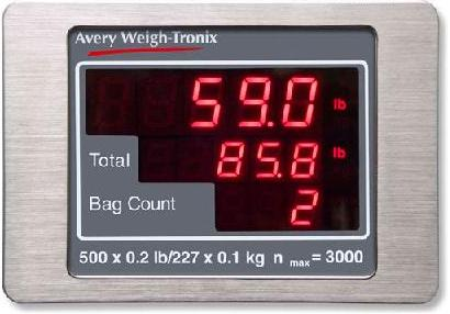 Avery Weigh-Tronix B1920 Passenger                                 Panel