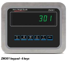 Avery Weigh-Tronix ZM301                               Weight Indicator