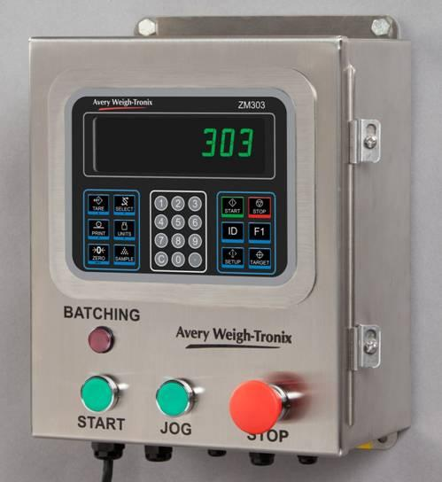 Avery                                 Weigh-Tronix ZM303 Batch Controller