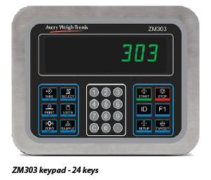 Avery Weigh-Tronix ZM303                               Weight Indicator