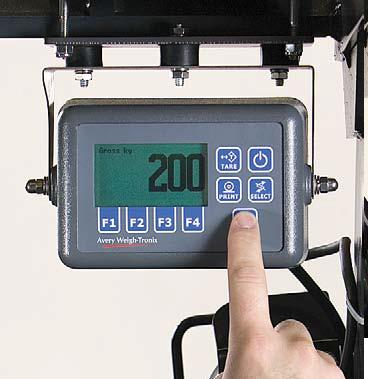 Avery Weigh-Tronix FLI225 Forklift Scale                       Weight Indicator