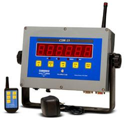 Cambridge Scale Works CSW-15 ans CSW-15-B                           Wireless Remote Control Weight Indicators