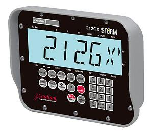 Cardinal Detecto 212G and 212GX STORM Weight                       Indicators for Commercial Applications